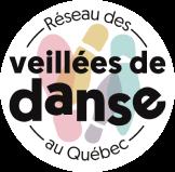 Logo du programme Réseau des veillées de danse au Québec