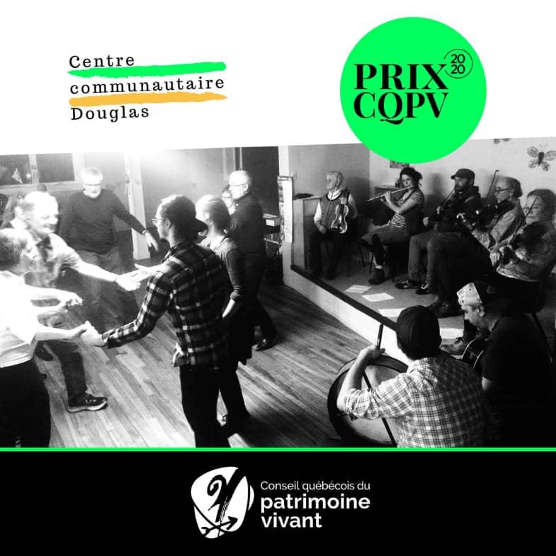 Prix CQPV 2020- Centre communautaire Douglas
