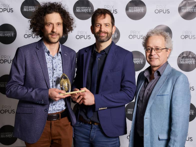 Prix Opus 2019 - Les Chauffeurs à pieds